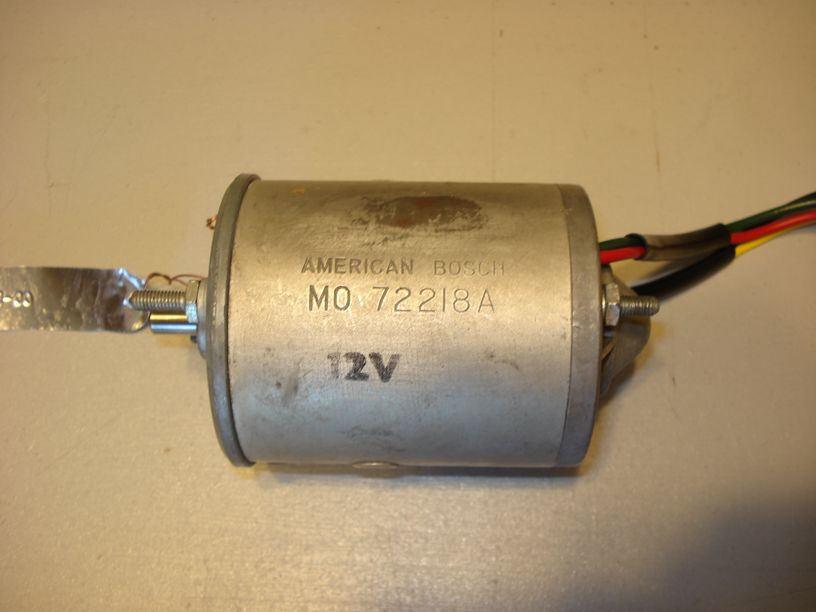 Cast-type end housing American Bosch motor