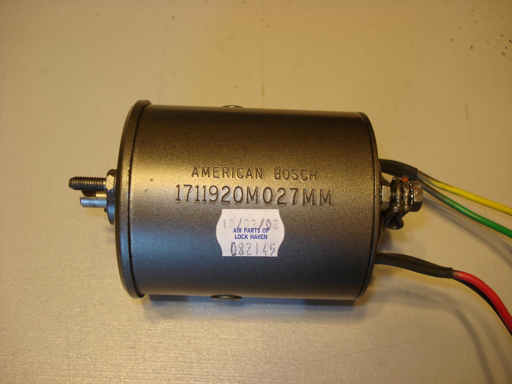 21286-000 landing gear retraction motor