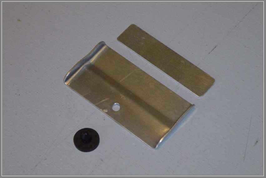 Fabricated Main Gear Door Stop Plate With Doubler