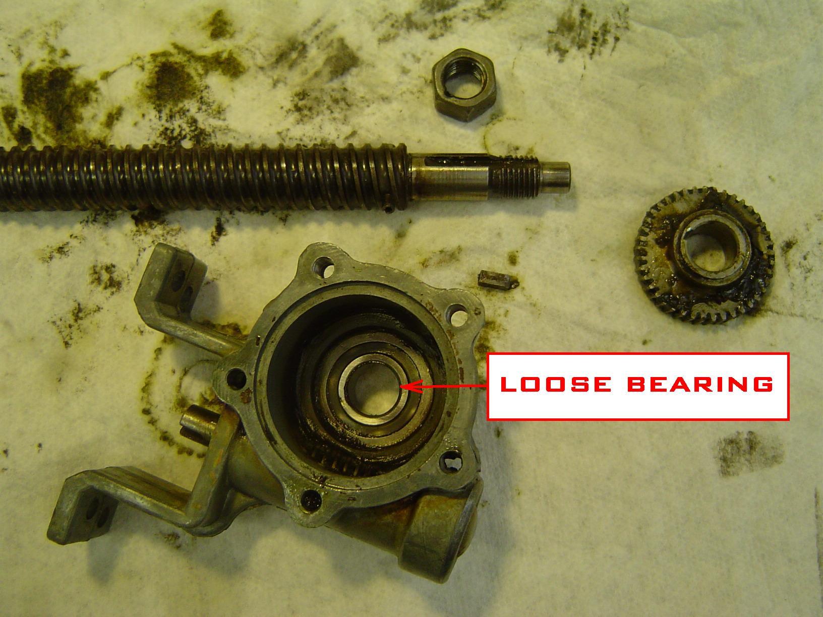 Loose Bearing