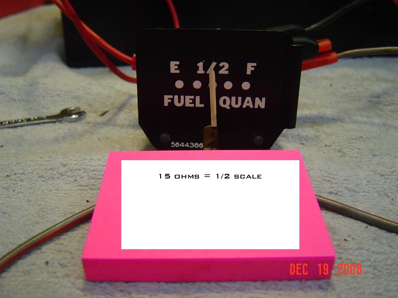 Panel gauge calibration Photo 1