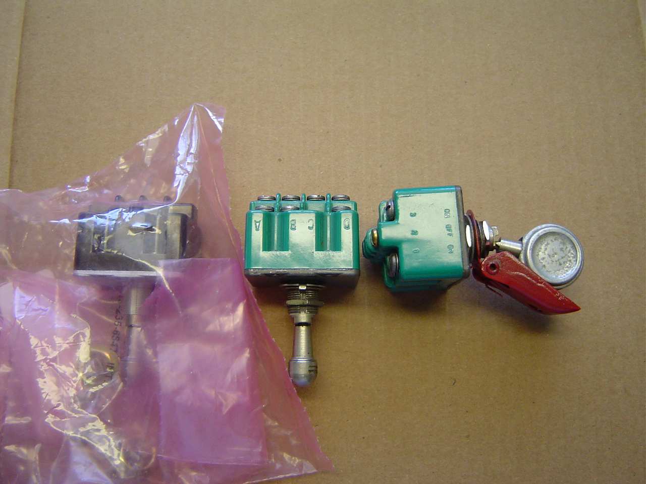 Landing Gear Selection Switch Parts