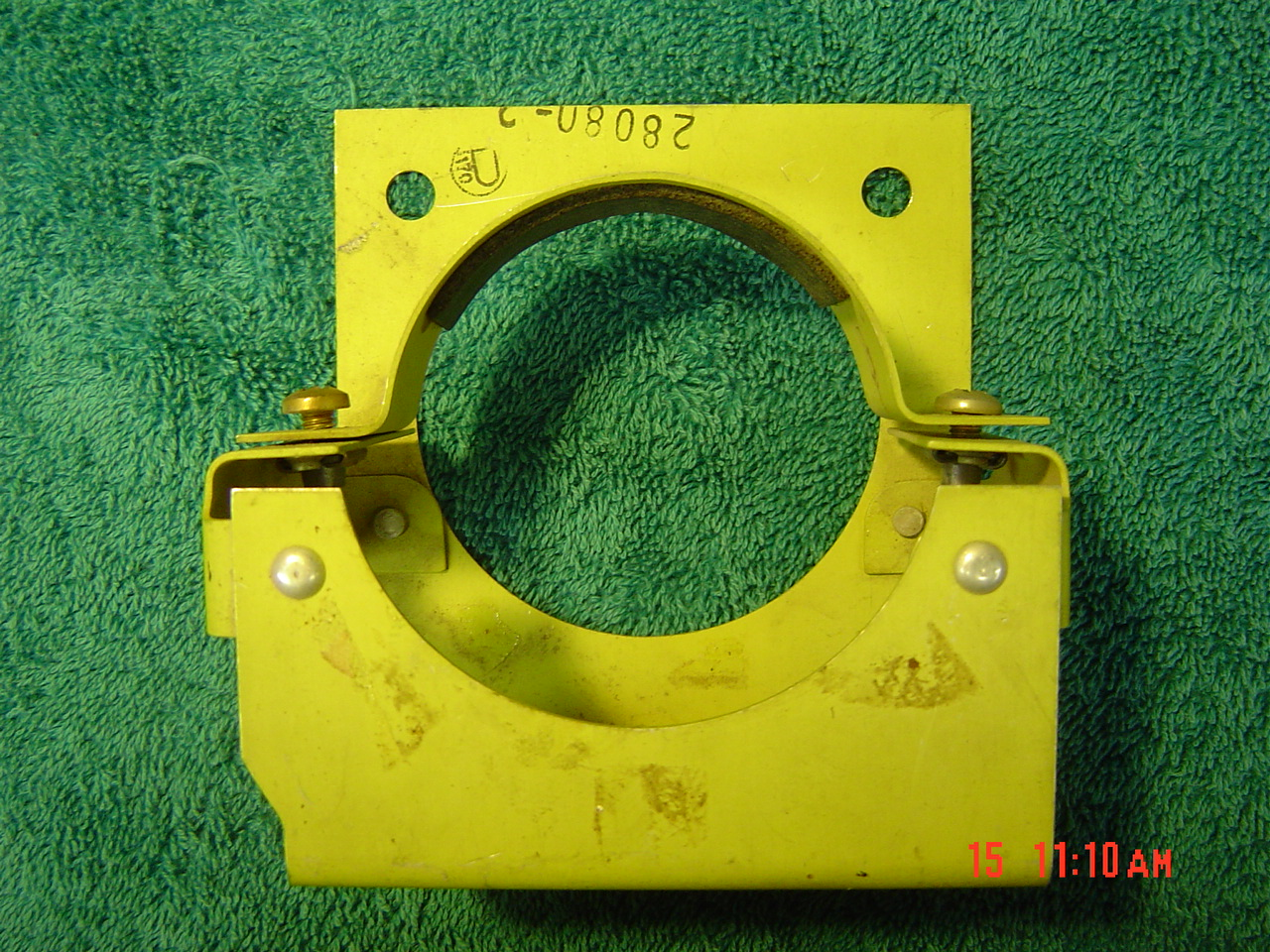 400 Comanche Boost Pump Mounting Bracket Part Number 28080-000