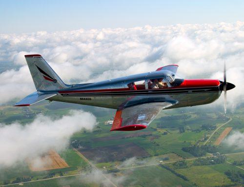 400 Comanche Airplane Air to Air Photos