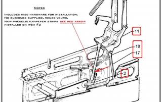 nose-gear-doors-actuator-bracket-assembly-refurbish-diagram