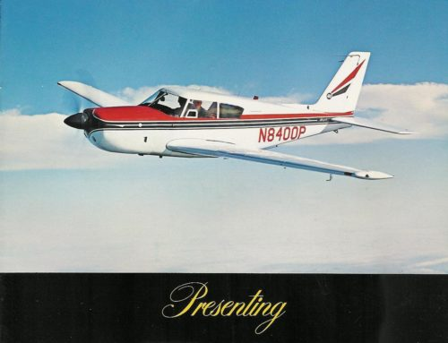 Piper Comanche 400 Sales Brochure