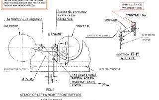 engine baffle installation drawing diagram