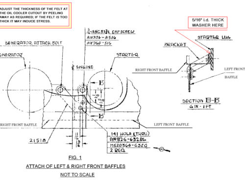 Single Engine Baffles 180, 250, 260 Installation Instructions