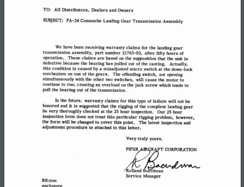 Service Letter 315
