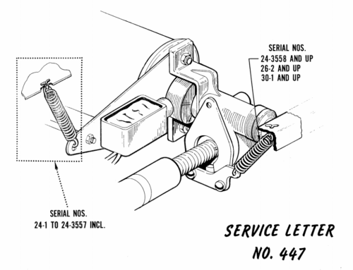 Service Letter 447