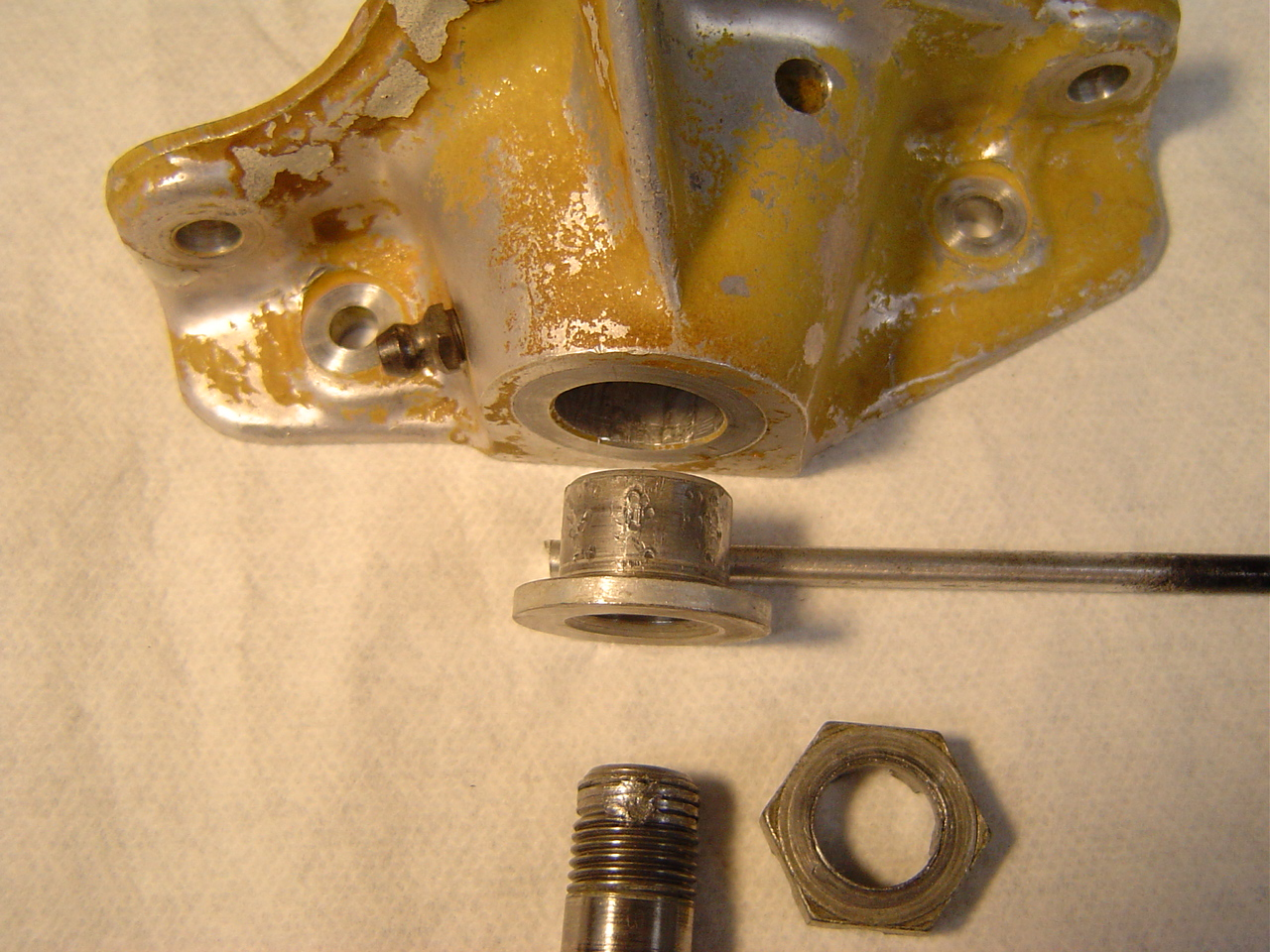 old side brace support bracket